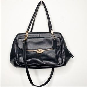 Coach satchel saddle bag . Madison style